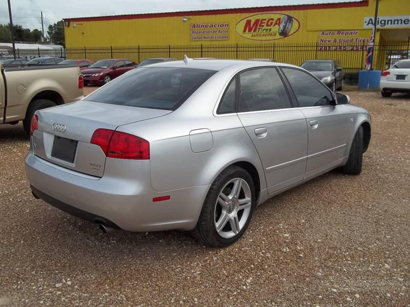 2007 Audi A4 AWD 2.0T quattro 4dr Sedan (2L I4 6A) - Houston TX