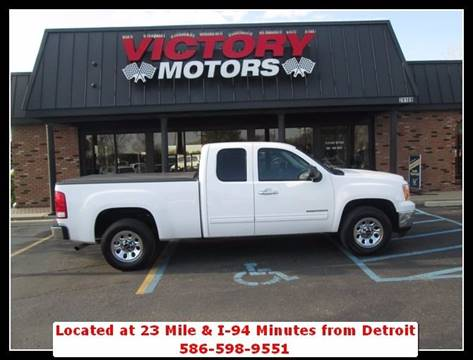 2011 GMC Sierra 1500 for sale in Chesterfield MI