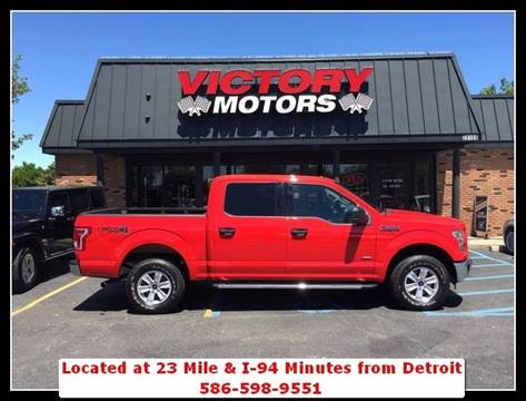 2016 Ford F-150 for sale in Chesterfield MI