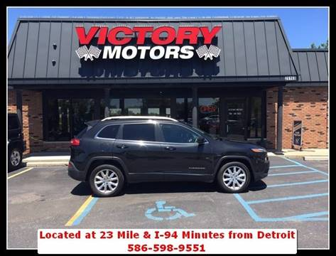 2016 Jeep Cherokee for sale in Chesterfield, MI