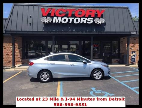 2017 Chevrolet Cruze for sale in Chesterfield, MI