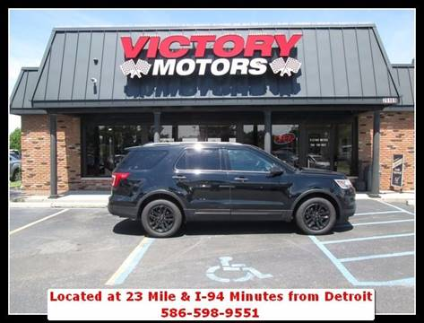 2016 Ford Explorer for sale in Chesterfield MI