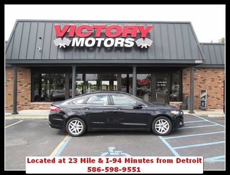 2016 Ford Fusion for sale in Chesterfield, MI