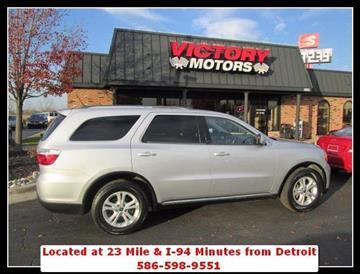 2011 Dodge Durango for sale in Chesterfield, MI