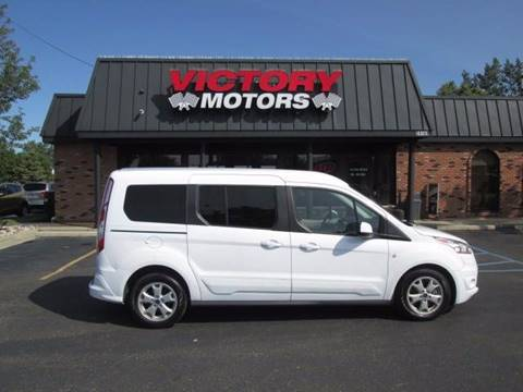 2016 Ford Transit Connect Wagon for sale in Chesterfield, MI