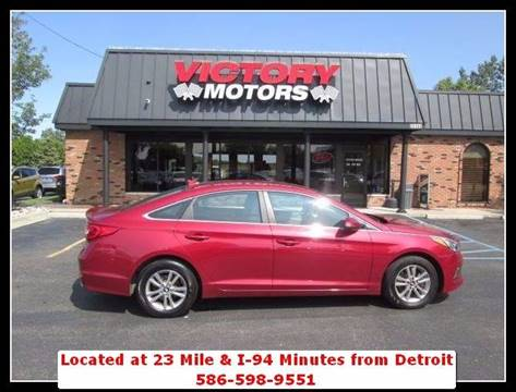2016 Hyundai Sonata for sale in Chesterfield, MI