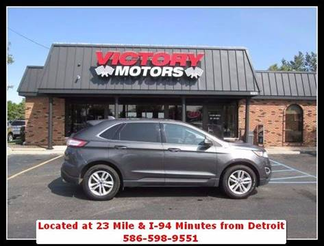 2015 Ford Edge for sale in Chesterfield MI