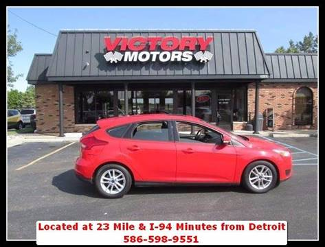 2016 Ford Focus for sale in Chesterfield MI