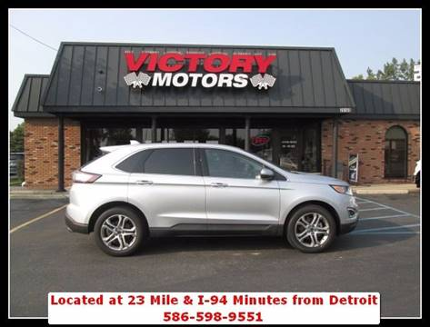 2017 Ford Edge for sale in Chesterfield, MI