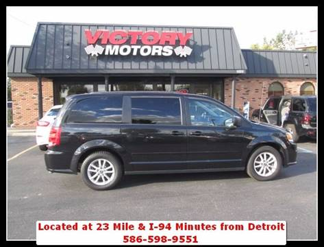 2016 Dodge Grand Caravan for sale in Chesterfield, MI