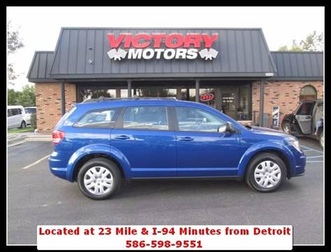 2015 Dodge Journey for sale in Chesterfield MI