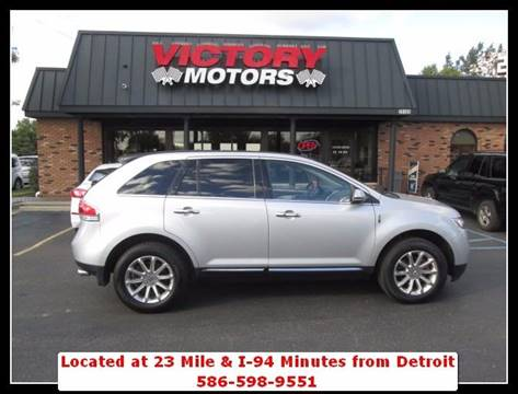 2013 Lincoln MKX for sale in Chesterfield MI