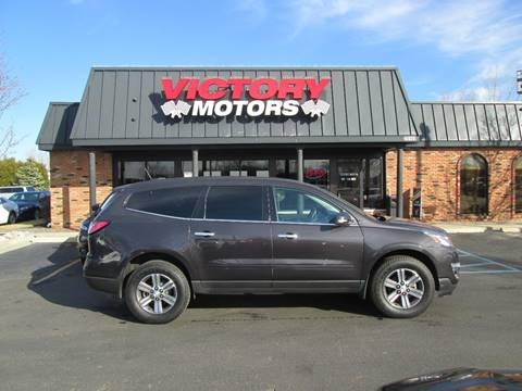 2017 Chevrolet Traverse for sale in Chesterfield, MI