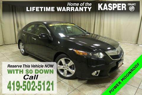 2014 Acura TSX for sale in Sandusky, OH