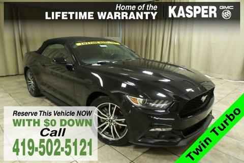 2016 Ford Mustang for sale in Sandusky, OH