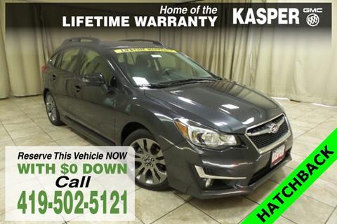 2016 Subaru Impreza for sale in Sandusky, OH