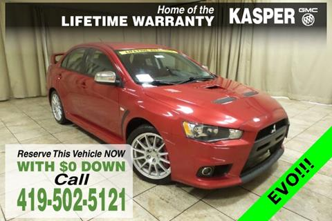 2013 Mitsubishi Lancer Evolution for sale in Sandusky OH