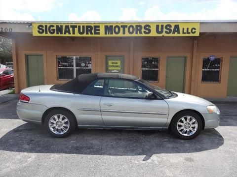2005 Chrysler Sebring for sale in Orlando, FL