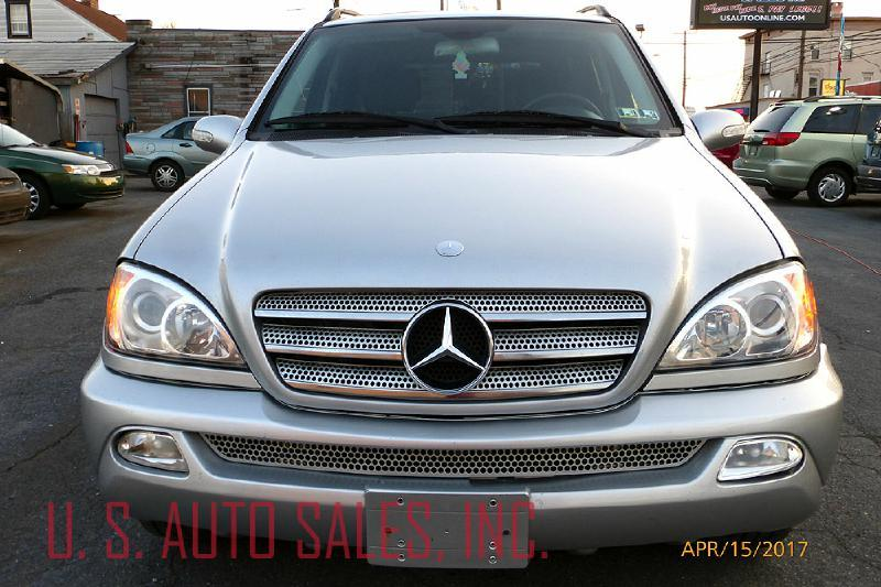 2003 Mercedes-Benz M-Class AWD ML 500 4MATIC 4dr SUV - Harrisburg PA