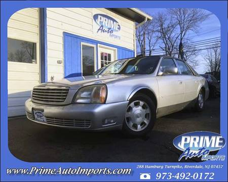 2002 Cadillac DeVille for sale in Riverdale, NJ