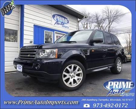 2008 Land Rover Range Rover Sport for sale in Riverdale, NJ