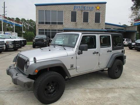 2010 Jeep Wrangler Unlimited for sale in Spring, TX