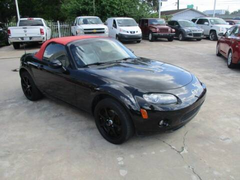 2008 Mazda MX-5 Miata for sale at Lone Star Auto Center in Spring TX