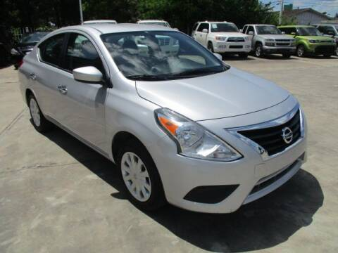 2019 Nissan Versa for sale at Lone Star Auto Center in Spring TX