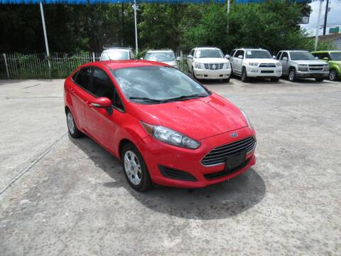 2015 Ford Fiesta for sale at Lone Star Auto Center in Spring TX