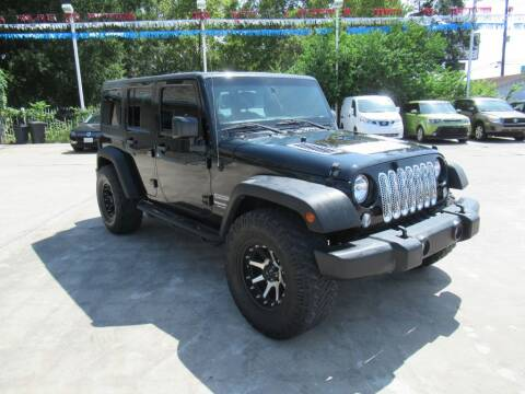 2015 Jeep Wrangler Unlimited for sale at Lone Star Auto Center in Spring TX