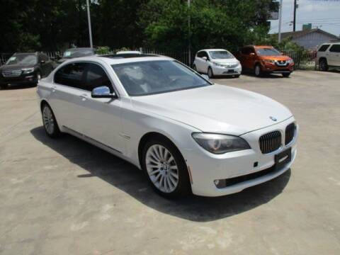 2012 BMW 7 Series for sale at Lone Star Auto Center in Spring TX