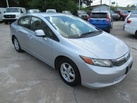 2012 Honda Civic for sale at Lone Star Auto Center in Spring TX