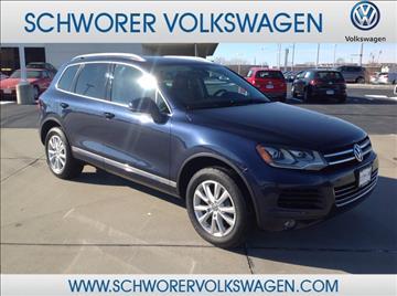 2014 Volkswagen Touareg for sale in Lincoln, NE