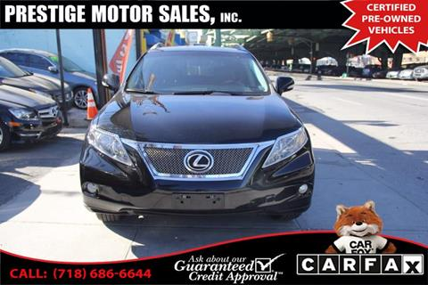 2010 Lexus RX 350 for sale in Brooklyn, NY