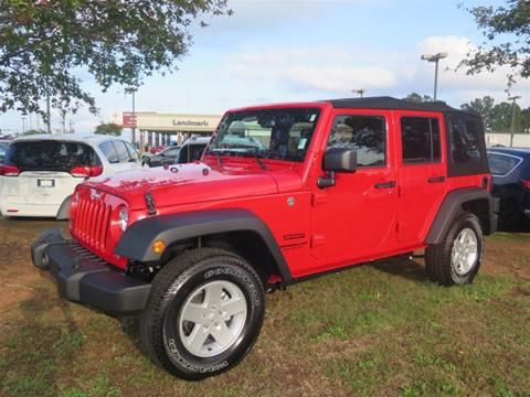 2017 Jeep Wrangler Unlimited for sale in Athens, GA