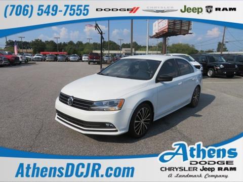 2016 Volkswagen Jetta for sale in Athens, GA