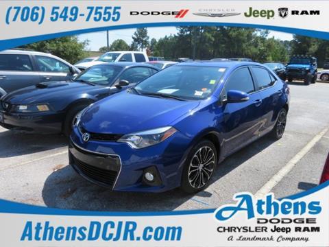 2016 Toyota Corolla for sale in Athens, GA