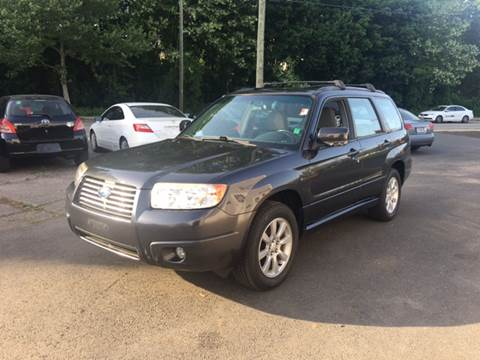 2008 Subaru Forester for sale in Manchester, CT