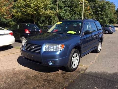 2007 Subaru Forester for sale in Manchester, CT