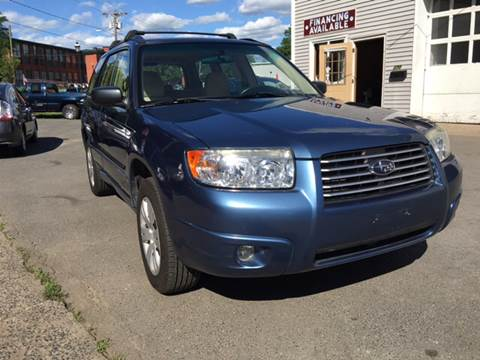 2008 Subaru Forester for sale at Manchester Auto Sales in Manchester CT