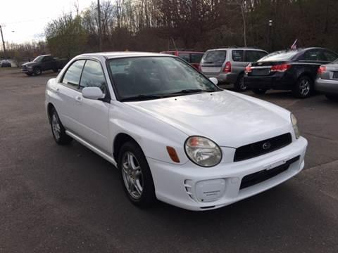 2002 Subaru Impreza for sale in Manchester, CT