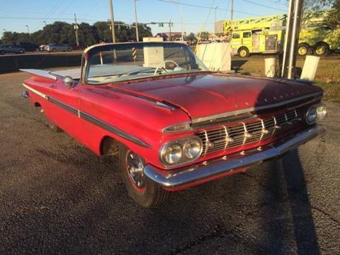 1959 Chevrolet Impala for sale in Cadillac, MI