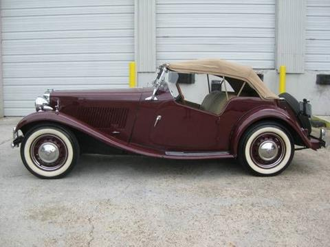 1950 MG TD for sale in Cadillac, MI