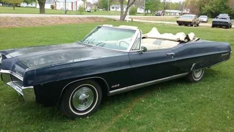 1967 Pontiac Bonneville for sale in Cadillac, MI