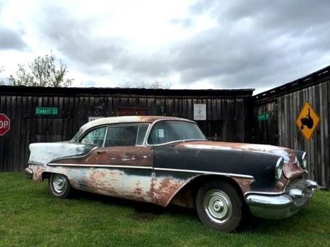 1955 Oldsmobile Eighty-Eight for sale in Cadillac, MI