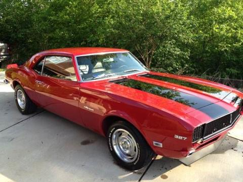 1968 chevrolet camaro for sale in michigan. Black Bedroom Furniture Sets. Home Design Ideas