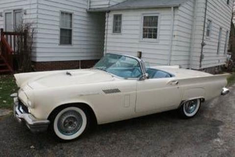 1957 Ford Thunderbird for sale in Cadillac, MI