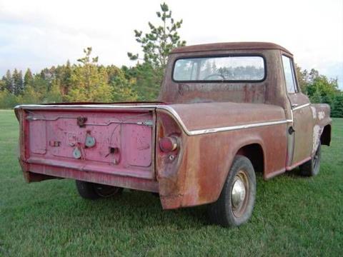 1957 International Pickup for sale in Cadillac, MI