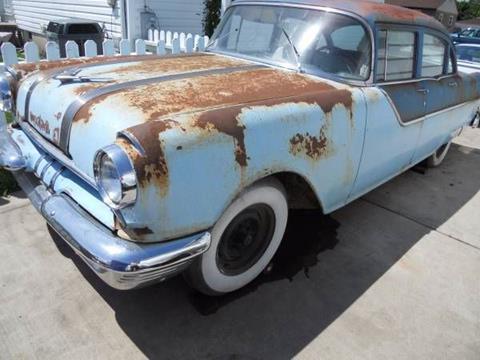 1955 Pontiac Chieftain for sale in Cadillac, MI
