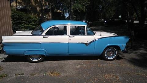1955 Ford Fairlane for sale in Cadillac, MI